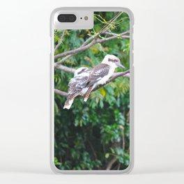 Kookaburras Clear iPhone Case