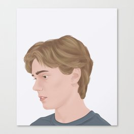 Skam | Isak Valtersen #2 Canvas Print