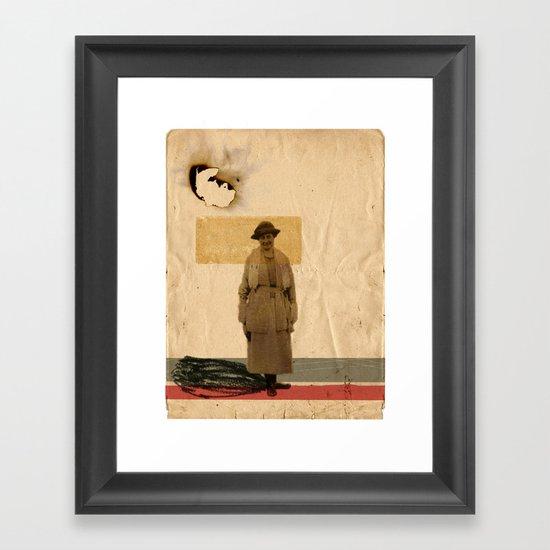 SAND// Framed Art Print