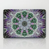 stained glass iPad Cases featuring Stained Glass  by IowaShots