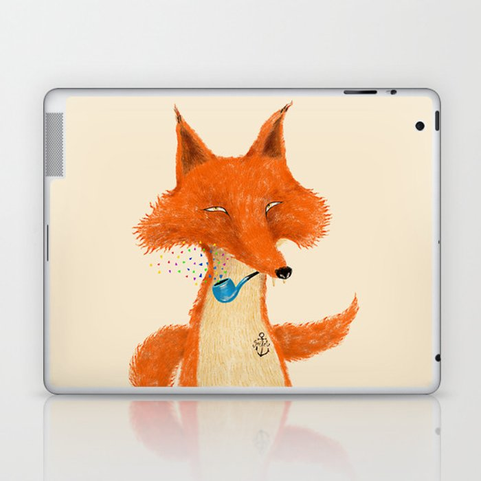 Fox III Laptop & iPad Skin