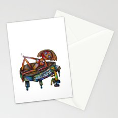 Every morning Jack plays the piano! Stationery Cards