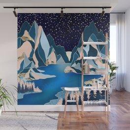 Star Peaks Wall Mural