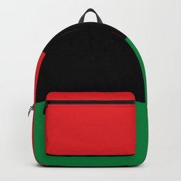 Pan African RBG Flag Bespoke Backpack