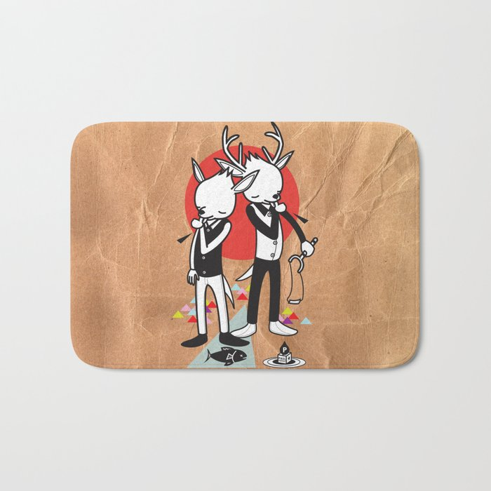 TASTE OF OUR THUMBS - THUMBS UP! BITTERSWEET Bath Mat