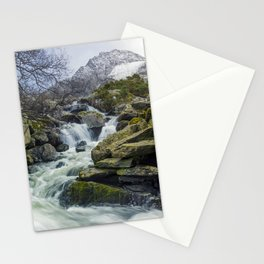 Snow Covered Tryfan Stationery Cards