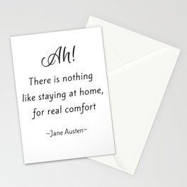 Jane Austen - Home Stationery Cards