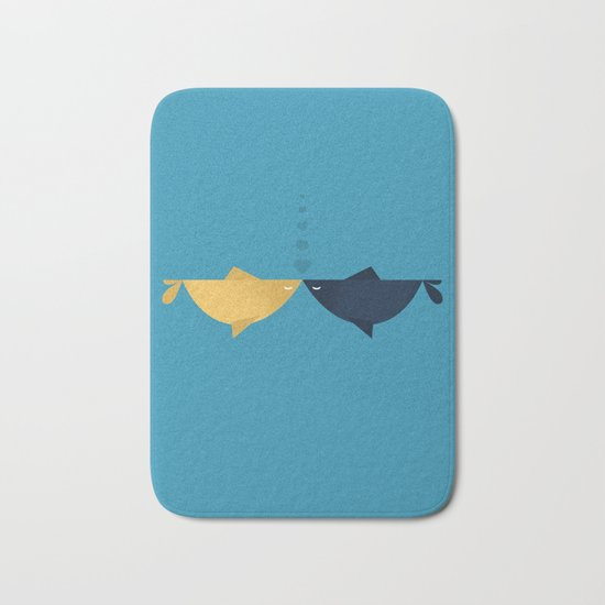 Hooked on you Bath Mat