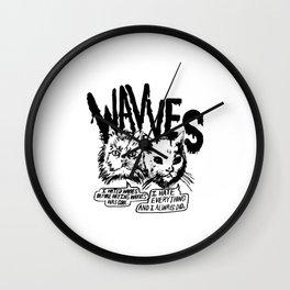 Wavves Band Wall Clock