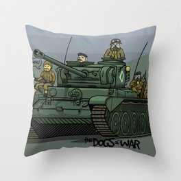 The Dogs of War: Comet Throw Pillow