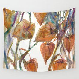 Physalis #2 Wall Tapestry