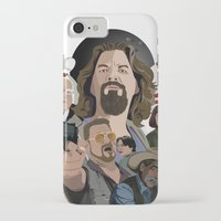big lebowski iPhone & iPod Cases featuring The Big Lebowski by Chad Trutt