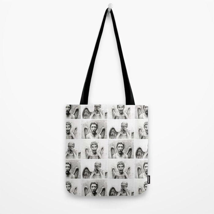 Weeping Angels Tote Bag