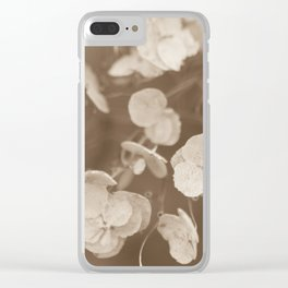 Stillness for a Moment Clear iPhone Case