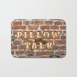 Pillow Talk - Brick Bath Mat