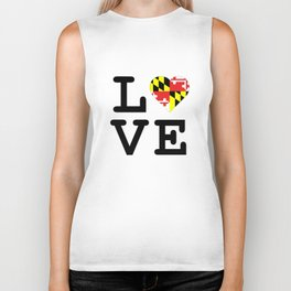 Love Maryland Biker Tank