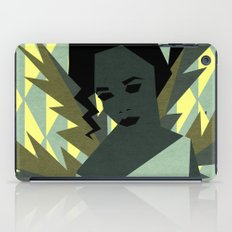 The shy girl iPad Case