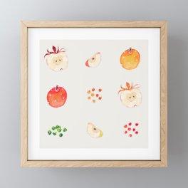 Cloud Land apples  Framed Mini Art Print