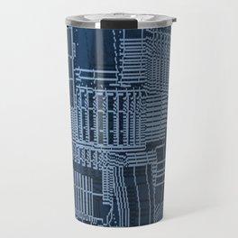 Submerged City Travel Mug