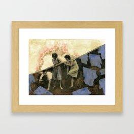 Act III Framed Art Print