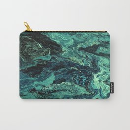 Storm at Sea Teal Carry-All Pouch