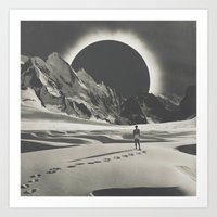 interstellar Art Prints featuring Interstellar by Douglas Hale