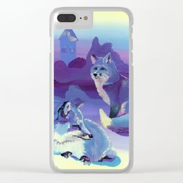 Fox Trott at the Pavilion Clear iPhone Case