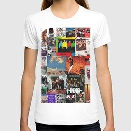 INXS Album Mix T-shirt
