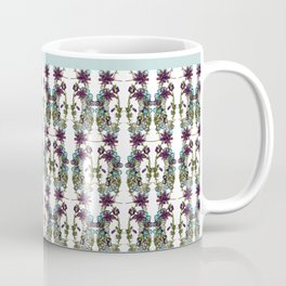 Paige McCann-Gray, Surface Pattern Designer. Heather and Crystal Collection.https://society6.com/pai Coffee Mug