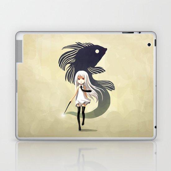 Black Moor Laptop & iPad Skin