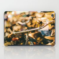 bikes iPad Cases featuring Bikes by GF Fine Art Photography