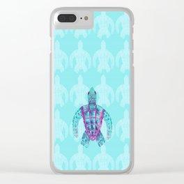 Tomas in Aqua Clear iPhone Case