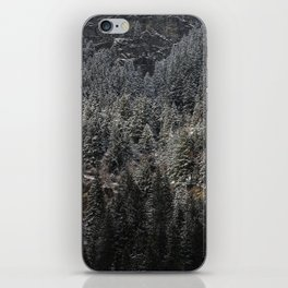 Powdered Mountain iPhone Skin