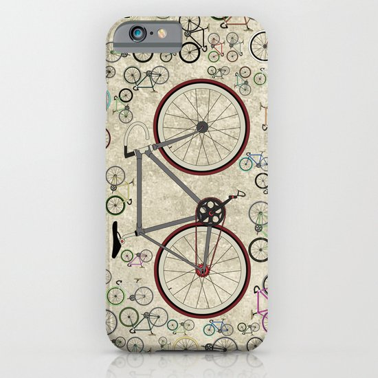 Love Fixie Road Bike iPhone & iPod Case