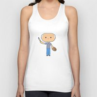 pablo picasso Tank Tops featuring Pablo Picasso by Sombras Blancas Art & Design