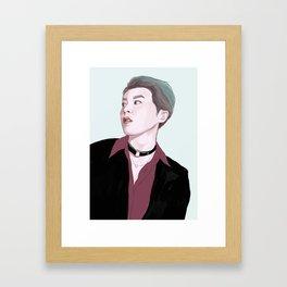 EXO X Framed Art Print