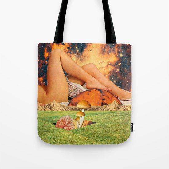 Legs & planet Tote Bag