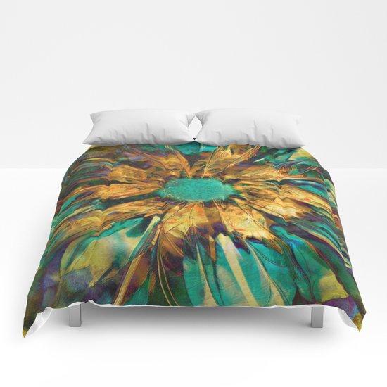 Bellis Fractallus Comforters