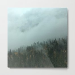 Forest Energy Metal Print