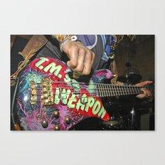 LET IT ROCK BABE - Weapon Canvas Print