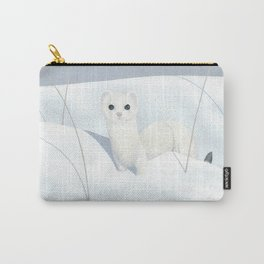 Ermine Weasel Carry-All Pouch