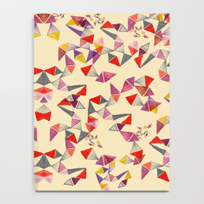 watercolour geometric shapes Notebook