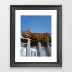 Good morning, Charlie! Framed Art Print