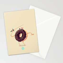 Baked to Rule Stationery Cards