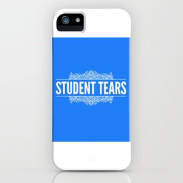 Student Tears iPhone Case