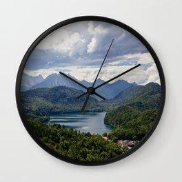 Hohenschwangau Bavaria Germany Wall Clock