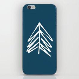 Pacific Northwest Evergreen   In Indigo iPhone Skin