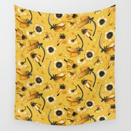 Honey Mustard Wall Tapestry