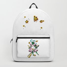 Green Galaxy Witchy Backpack