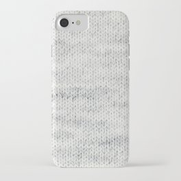 Gray Wool iPhone Case